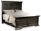 California King Panel Bed - Al Rugaib Furniture (4688741040224)