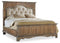 6/0 Upholstered Mantle Panel Bed - Al Rugaib Furniture (4688753492064)
