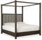 Jackson Cal King Poster Bed w-Tall Posts - Canopy - Al Rugaib Furniture (4688806183008)