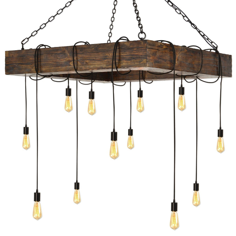 PENNSYLVANIA STATION, 12 LT CHANDELIER - Al Rugaib Furniture (4728209932384)