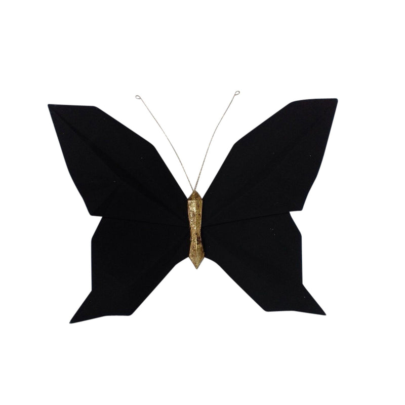 RESIN 10'' W ORIGAMI BUTTERFLYWALL HAN