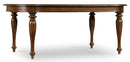 Leg Table w/2-18in Leaves - Al Rugaib Furniture (4688787308640)