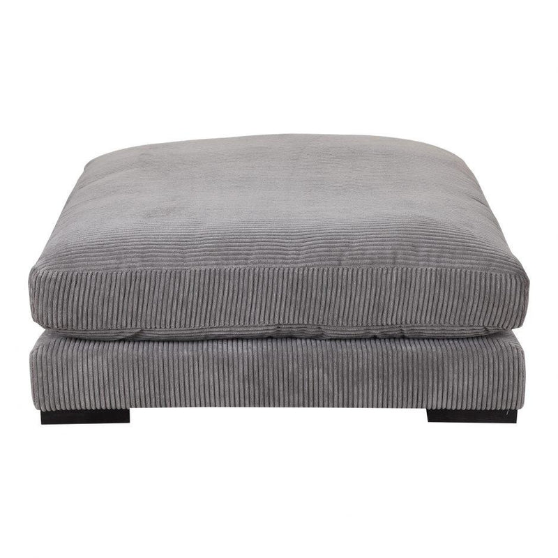 Tumble Ottoman Charcoal - Al Rugaib Furniture (4583251902560)