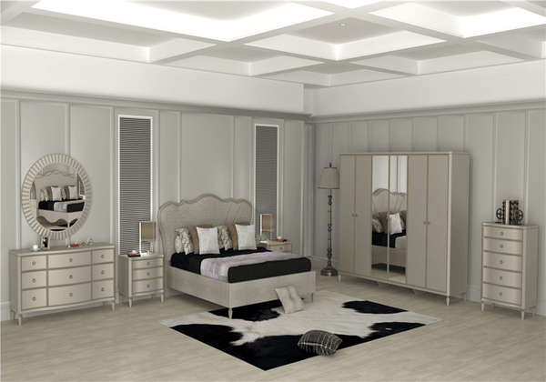 GF-831 BEDROOM - Al Rugaib Furniture (4468256997472)