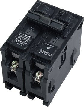 TWO-POLE BREAKERS - 120/240 volt, Common Trip