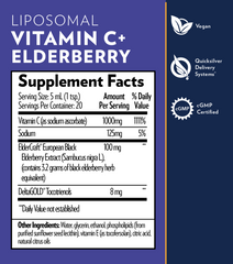 Vitamin C + Elderberry (Liposomal) FEATURED PRODUCT
