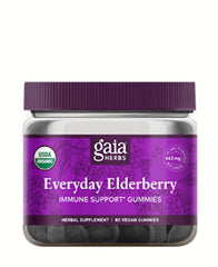 Everyday Elderberry Vegan 80 gummies