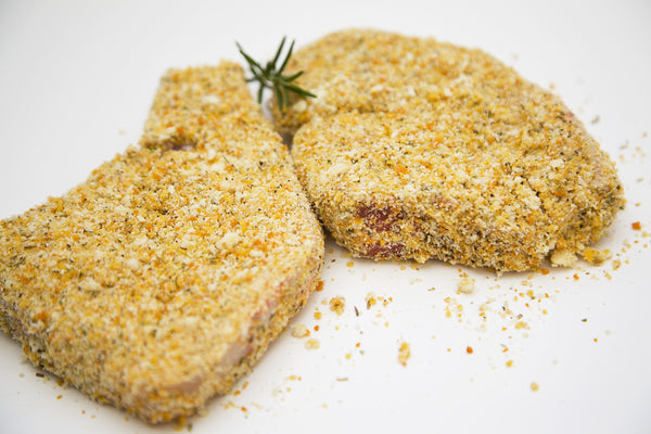 Parmasen Crumbed Pork Chops