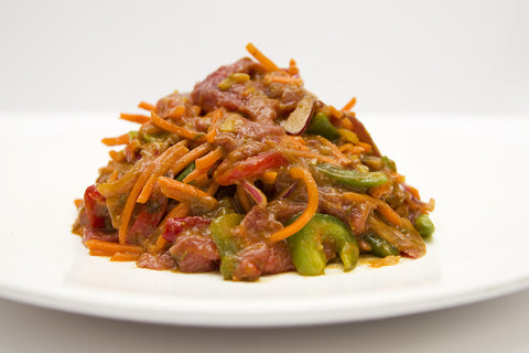 Caribbean Beef Stirfry