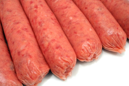 100% Pure Beef Sausages