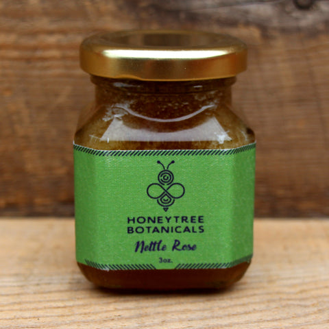 Nettle Rose Infused Honey