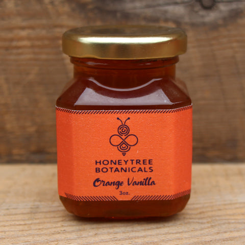 Orange Vanilla Infused Honey