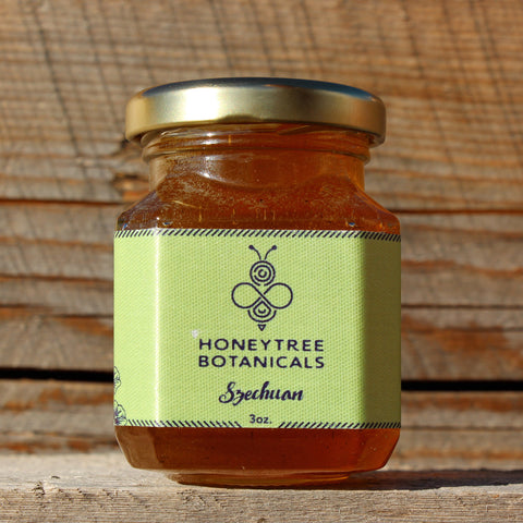 Szechuan Infused Honey