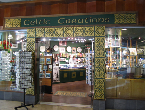 Celtic Creations in Lonsdale Quay Market