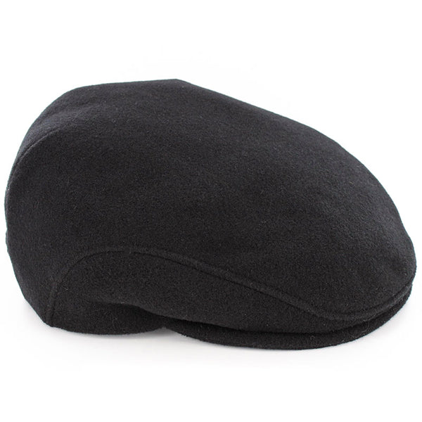 "Mucros Weavers Wool ""Trinity"" Cap - Black"