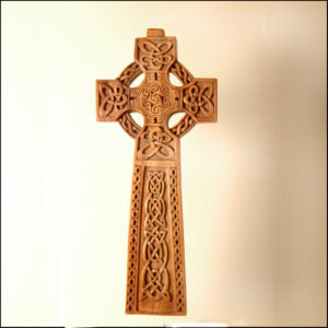 Celtic Standing Cross by Blue Frog Company