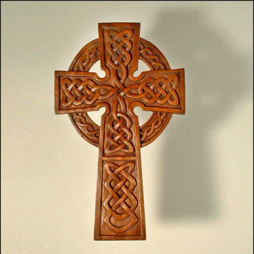 Celtic Knotwork Cross by Blue Frog Company