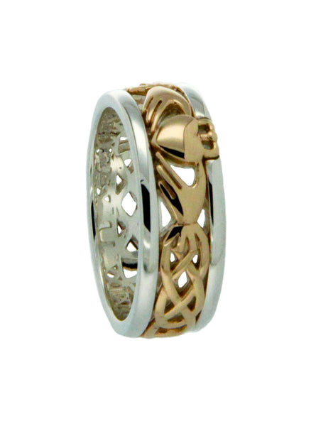 Claddagh Band Ring