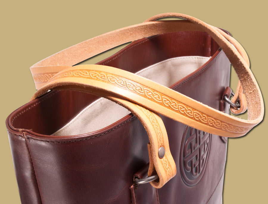 "Lee River ""Day Tote"" Leather Bag"