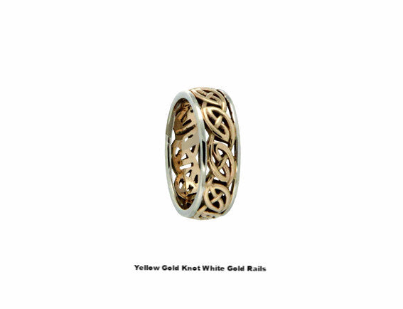 Ness Ring 14K - 2 Tone