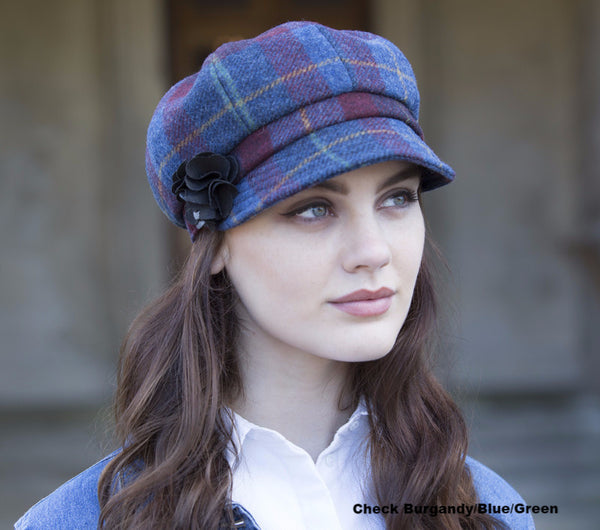 "Mucros Weavers Wool ""Newsboy"" Hat"