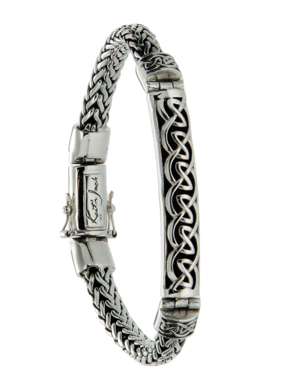 Dragon Weave Bracelet - Eternity Bar