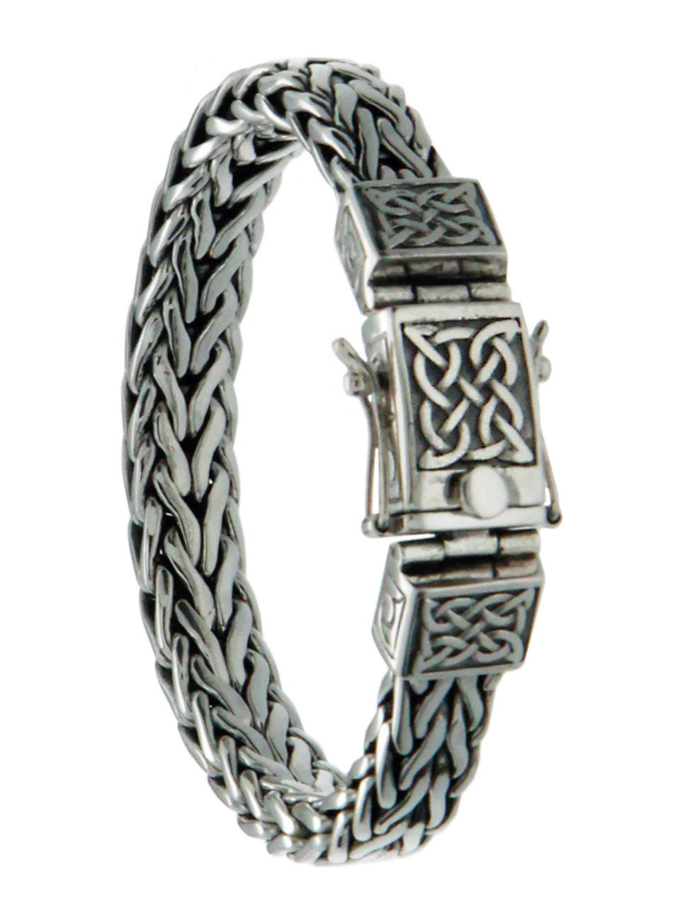 Dragon Weave Bracelet - Eternity Clasp