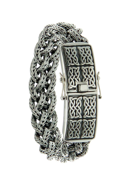 Norse Forge Dragon Weave Bracelet