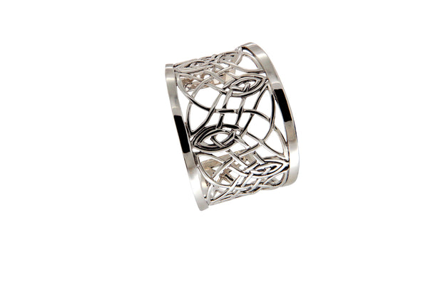 Intricate Celtic Knotwork Cuff