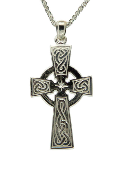 Celtic Cross - Sterling Silver, 10k, or 14k - Large