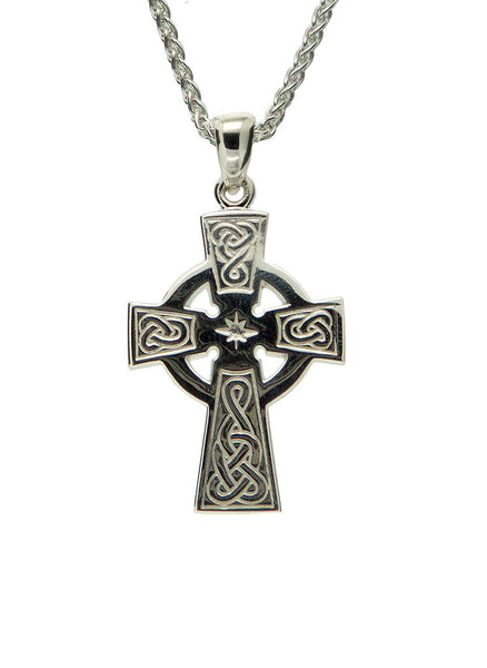 Celtic Cross - Sterling Silver, 10k or 14k - Medium