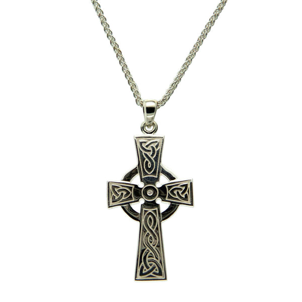 Celtic Cross - Sterling Silver, 10k or 14k  - Large