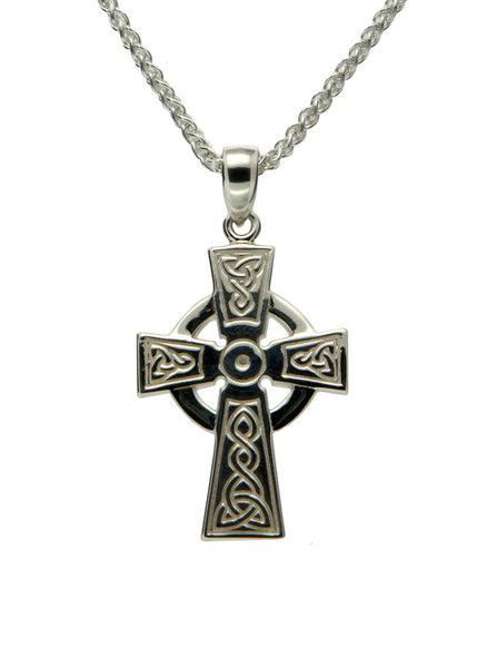 Celtic Cross - Sterling Silver - Medium