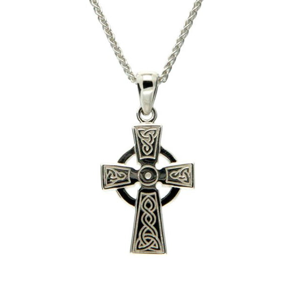 Celtic Cross - Sterling Silver, 10k or 14k - Small