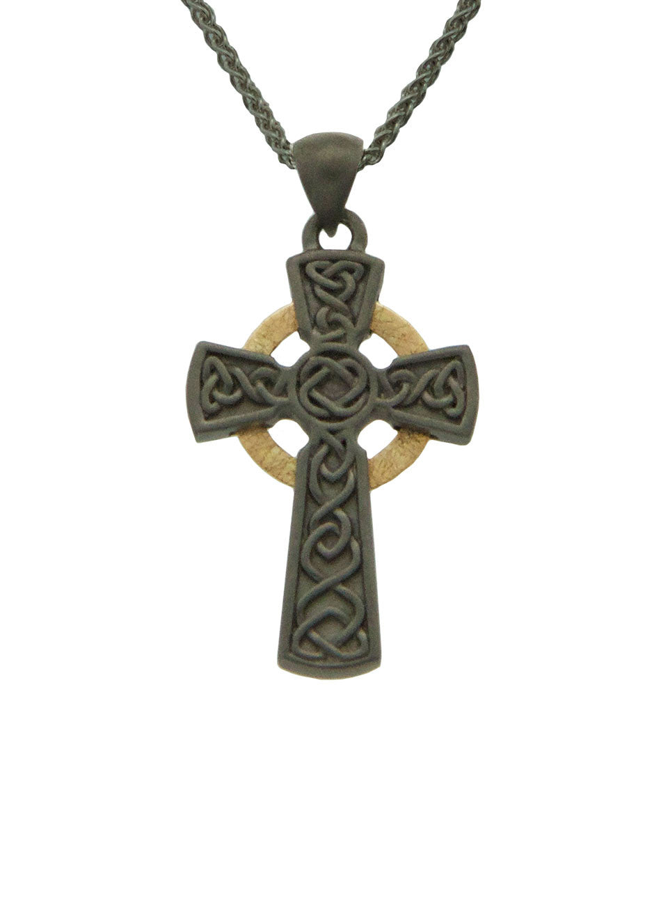 Celtic Cross - Rhutanium Circle Cross