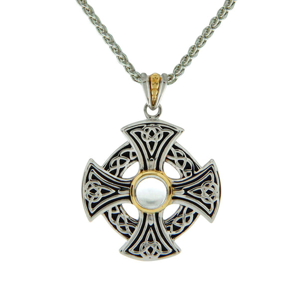Celtic Cross - Wheel Topaz