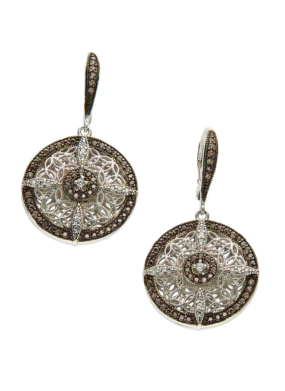 Night & Day - Earrings Round