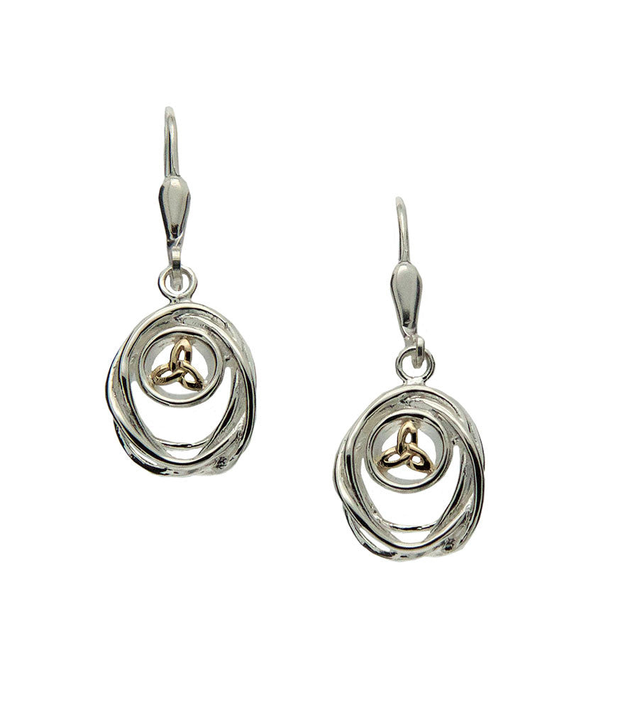 Celtic Cradle of Life Earrings
