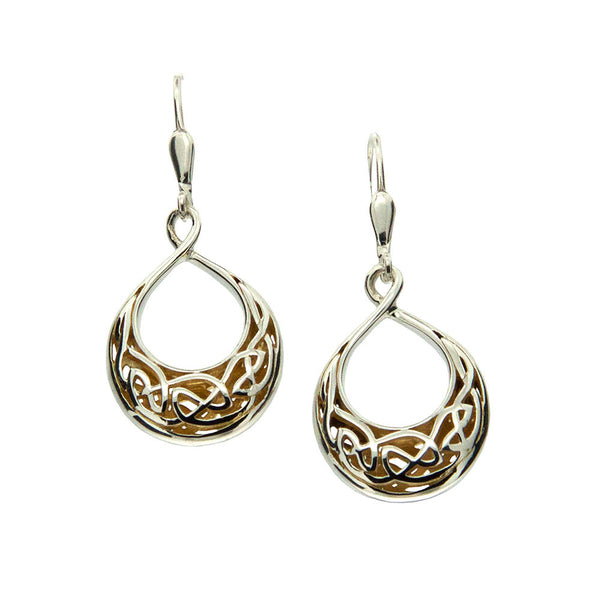 Window to The Soul Earrings Teardrop