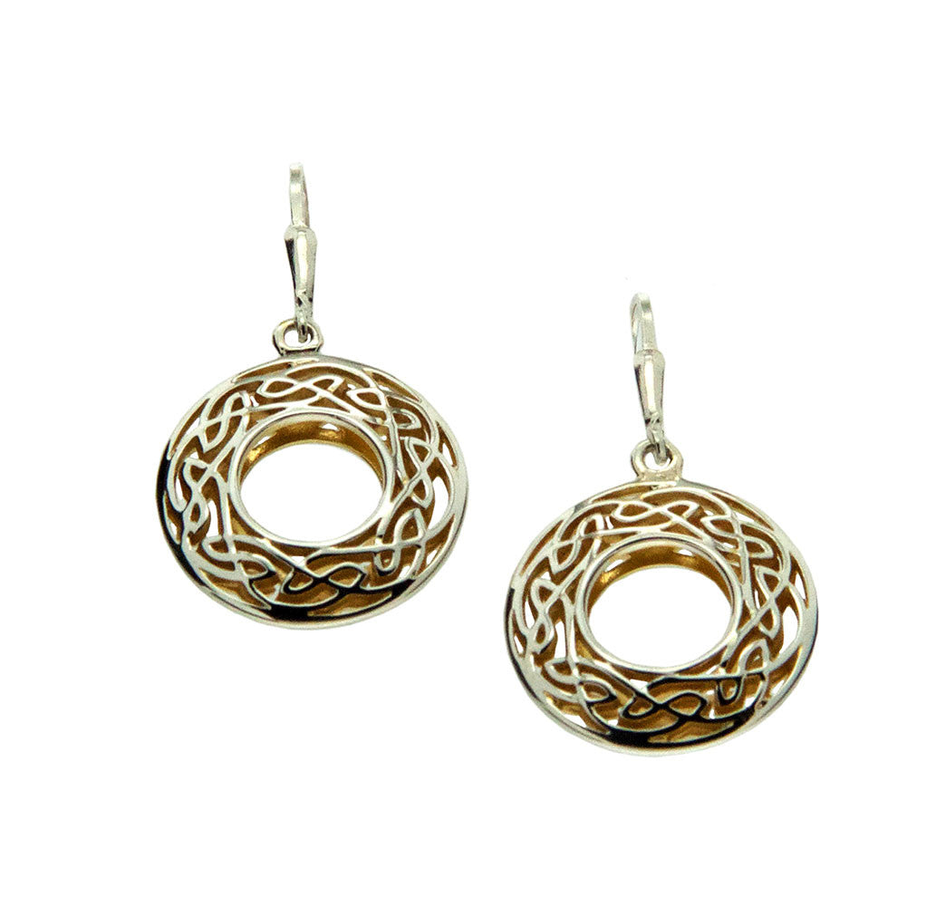 Window to The Soul Earrings Round