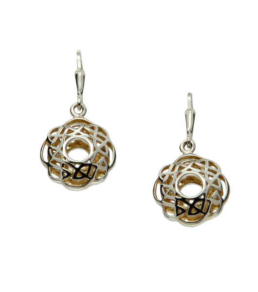 Window to the Soul Scalloped Earrings