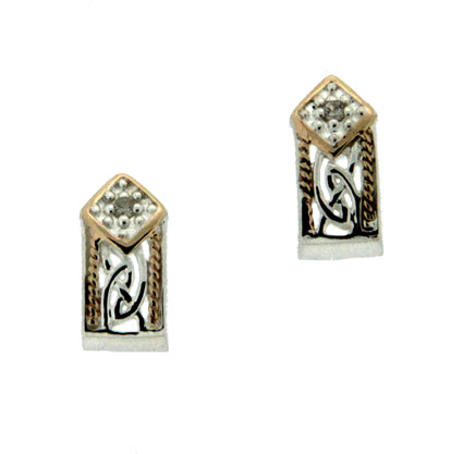 Window to the Soul Earrings with Diamonds