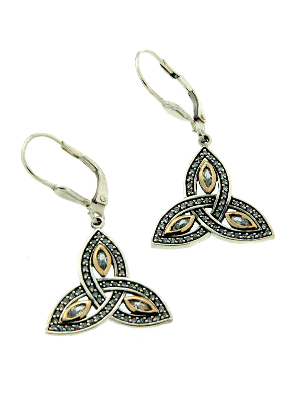 Trinity Marquis Earrings
