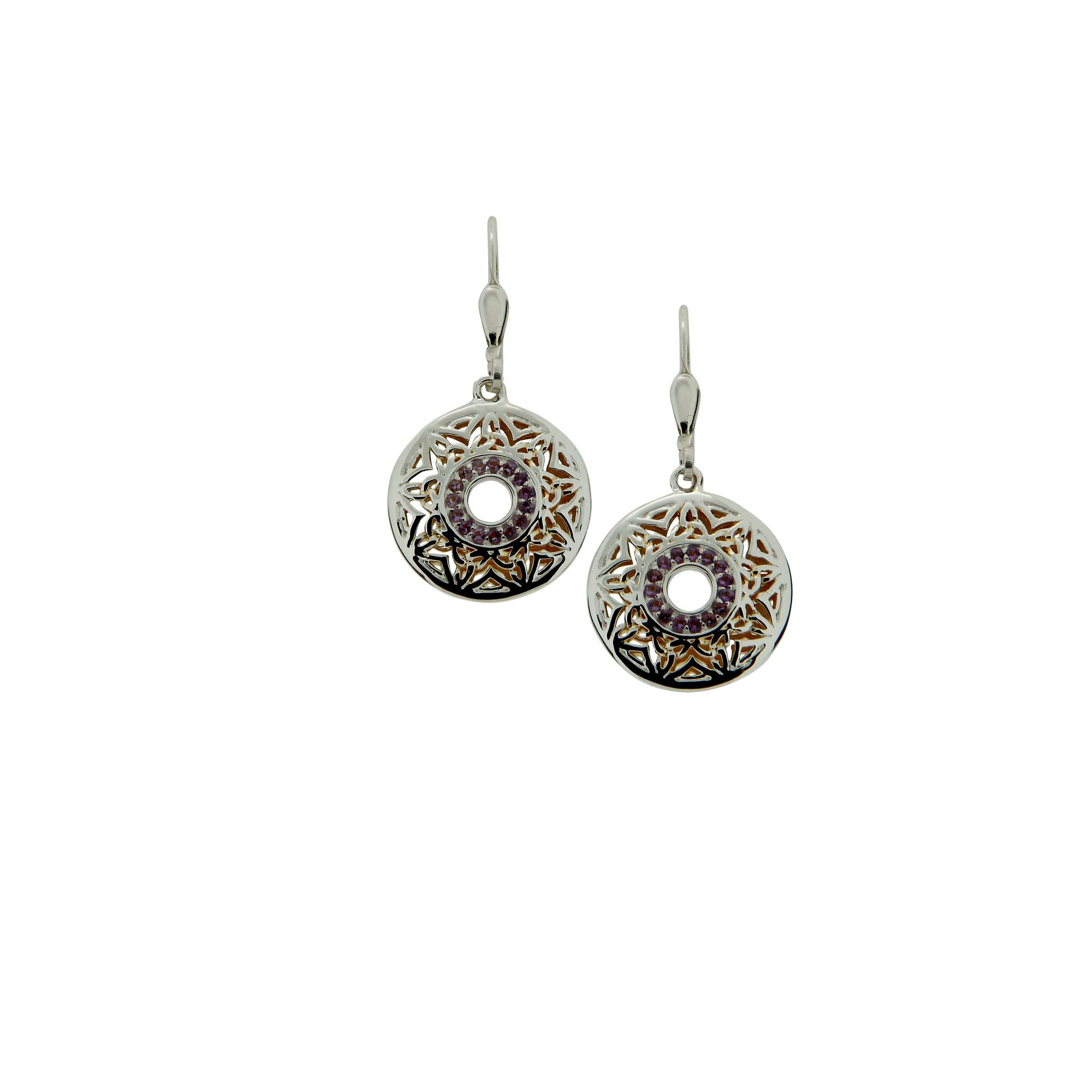Window to the Soul Earrings - Stone Set