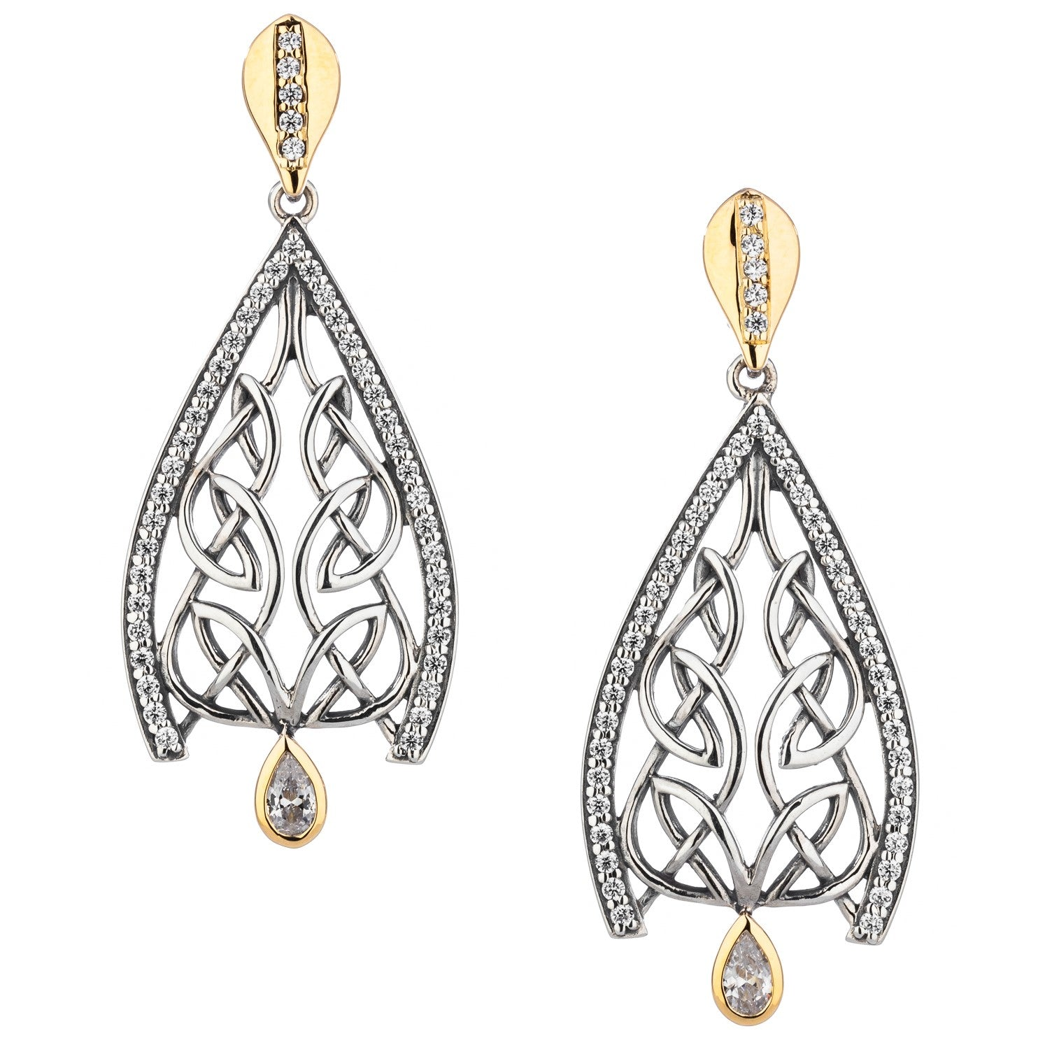 Dew Drop Gateway Earrings
