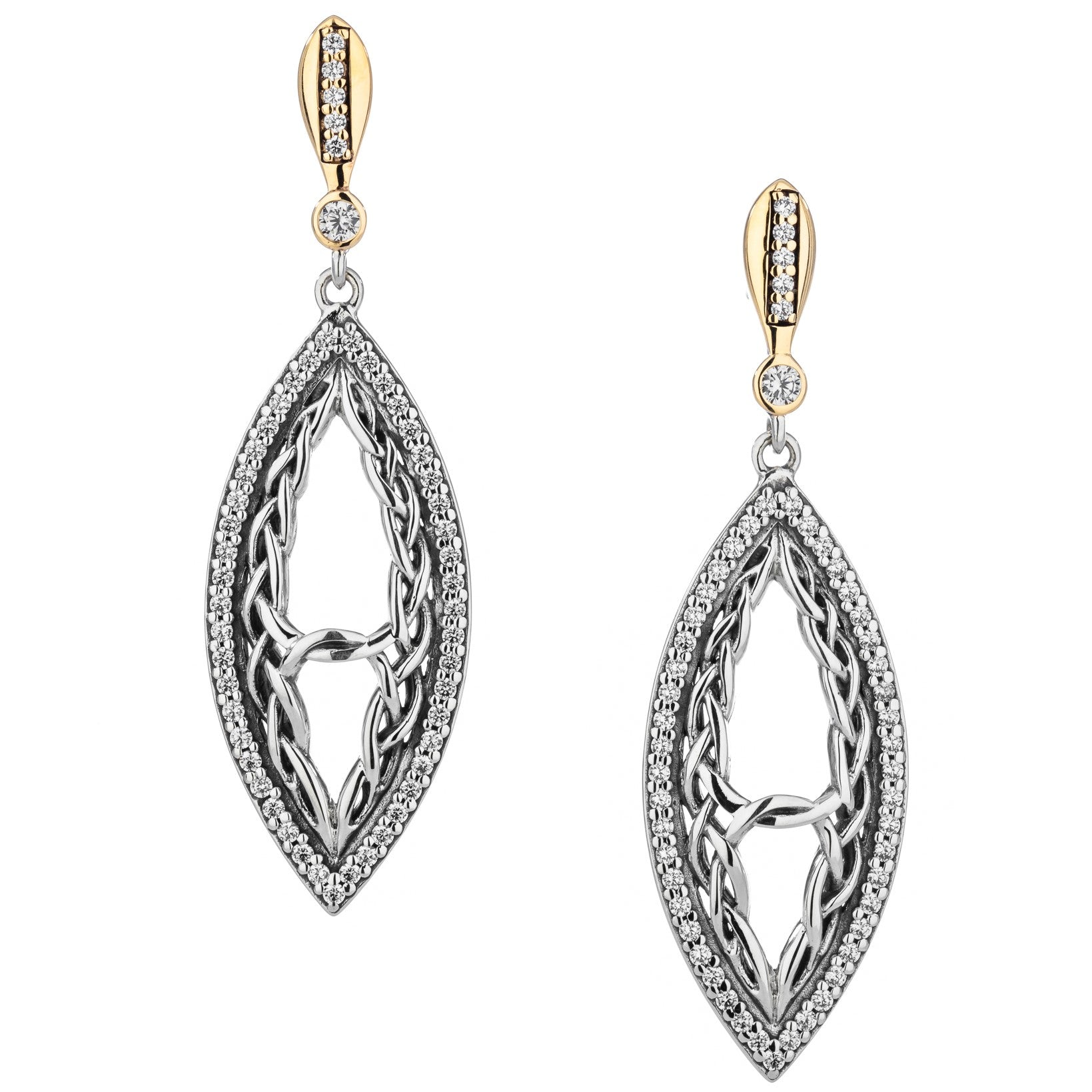Intertwining Gateway Earrings