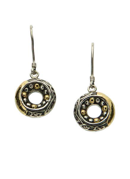 Labyrinth Earrings - Round