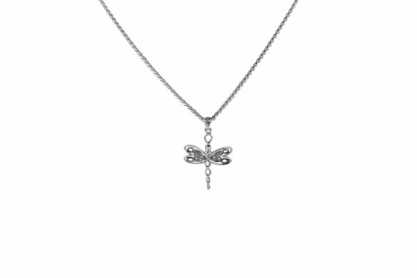 Dragonfly Necklace Petite