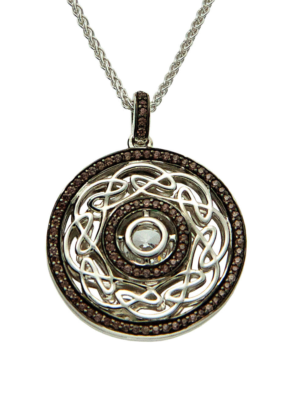 Night & Day - Eternity Knot Pendant