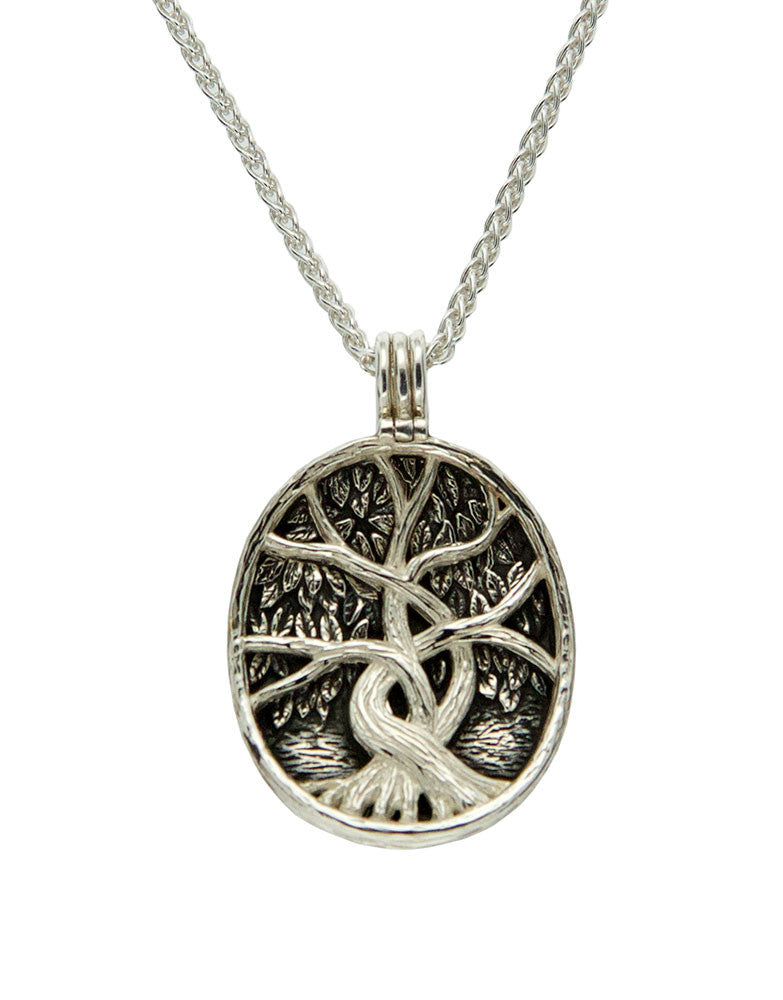 Tree of Life 4 Way Reversible Pendant